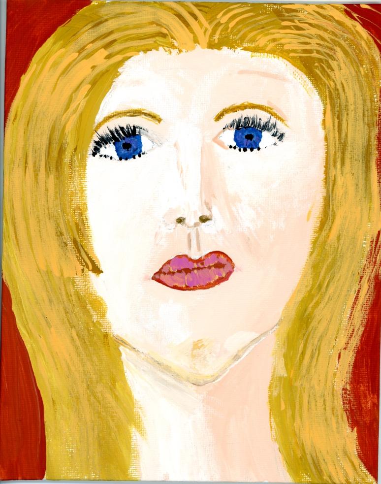 Jessica-self portrait