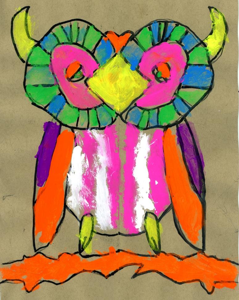Horned owl030