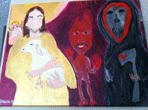 jesus devil reaper